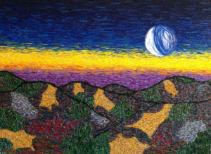 Full Moon In Virgo – An Expressionist At Work