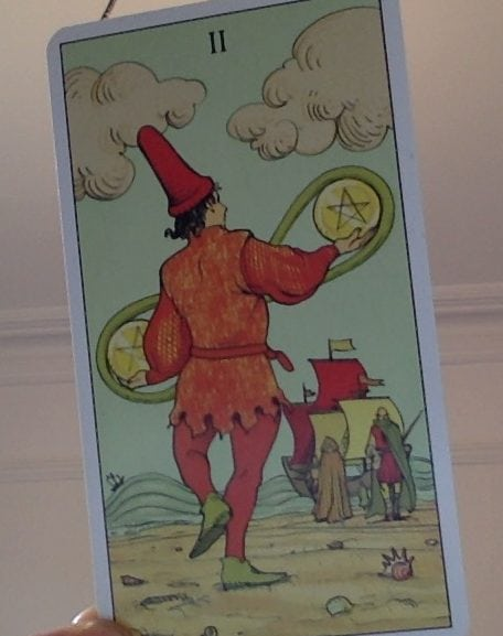 2 Coins After e1538974661376 - The Pentacles (Coins) in the Tarot