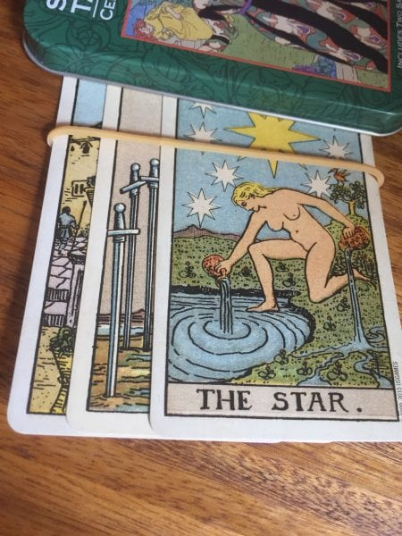 Meghan Past Present Potential 450x600 - Home Astrology and Tarot Workshop Podcast