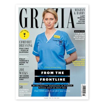 Grazia NHS Model - Astrology Predictions for the NHS